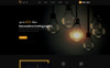 "OpenCart Vorlage namens ""Lighting Store"" Großer Screenshot"