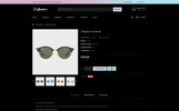 Glower - Goggles Store OpenCart Template