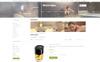 Plantilla OpenCart para Sitio de Moda Captura de Pantalla Grande