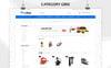 """""""Slingshot - The Tools Store"""" thème OpenCart adaptatif Grande capture d'écran"""