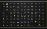 100 Minimalistic Logos Bundle