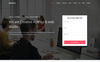 Brizzle - Responsive Landing Page Template Big Screenshot