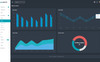 """Appzia - Dark"" Responsive Admin Template Groot  Screenshot"