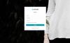 """Upcube - Responsive Web App Kit"" 响应式控制面板模板 大的屏幕截图"