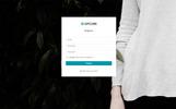 """Upcube - Responsive Web App Kit"" 响应式控制面板模板"