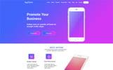 """Appsom - App Landing"" modèle PSD"
