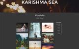 Ferdinand Photography - Personal Portfolio PSD Template