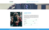 Storm Photography PSD Template