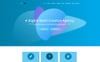 """CroWD - One Page Multi-Purpose Creative Agency"" modèle PSD adaptatif Grande capture d'écran"