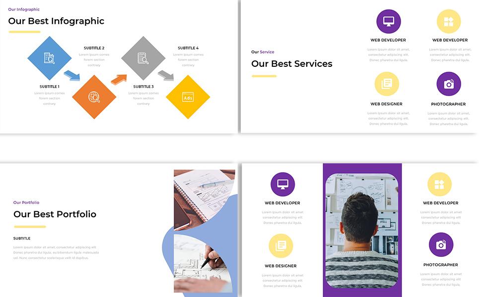 Sarna - Creative Business PowerPoint Template
