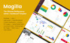 """Magilla - The Ultimate MultipurposeDashboard /"" Responsive Admin Template Groot  Screenshot"