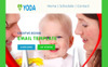 "Modello di Newsletter Responsive #68504 ""Yoda Email Creator for Stampready"" Screenshot grande"
