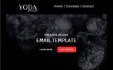 "Modello di Newsletter Responsive #68504 ""Yoda Email Creator for Stampready"""