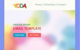 Plantilla de Boletín de Noticias para Sitio de Diseño Web