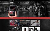 """""""Yoda Gym Sports"""" - Shopify шаблон"""