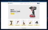 Responsive OpenCart Vorlage für Werkzeuge und Geräte