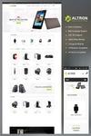 Altron — OpenCart шаблон интернет-магазина электроники