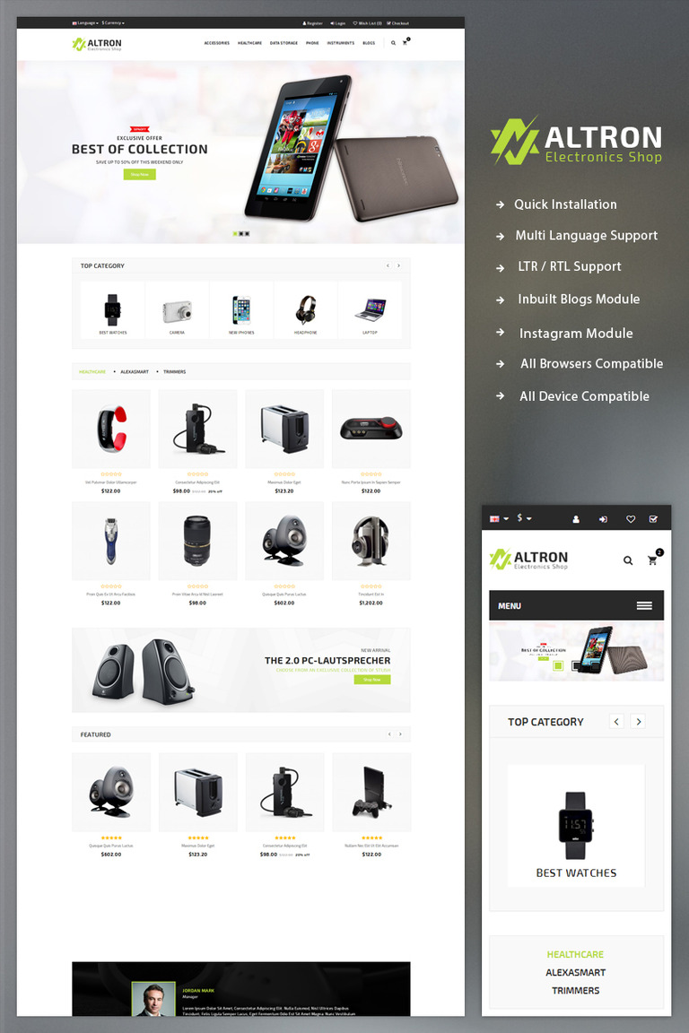 Altron the electronics shop opencart template 69382 altron the electronics shop opencart template big screenshot fandeluxe Choice Image