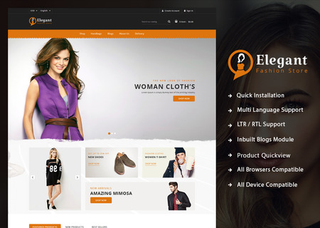 Elegant - Fashion Shop