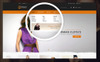 "PrestaShop шаблон ""Elegant - Fashion Shop"" Большой скриншот"