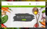 Tema de PrestaShop para Sitio de Restaurantes vegetarianos