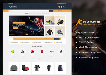 Playsport - Sport Accessories shop