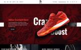 鞋店PSD模板