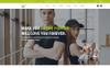 Fitness Zone - Gym And Fitness Muse Template Big Screenshot