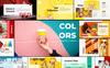 """Keynote Vorlage namens """"Colors"""" Großer Screenshot"""