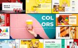 "Keynote Vorlage namens ""Colors"""