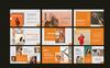 Nims. Brand PowerPoint Template Big Screenshot