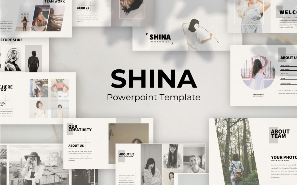 Shina Presentation PowerPoint Template