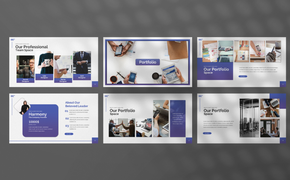 Space Presentation PowerPoint Template