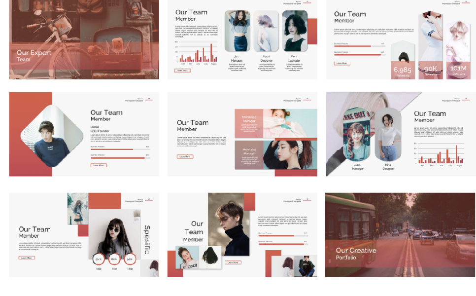 Space Spesific Presentation PowerPoint Template