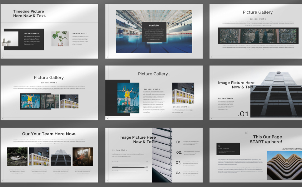 STAR UP Presentation PowerPoint Template