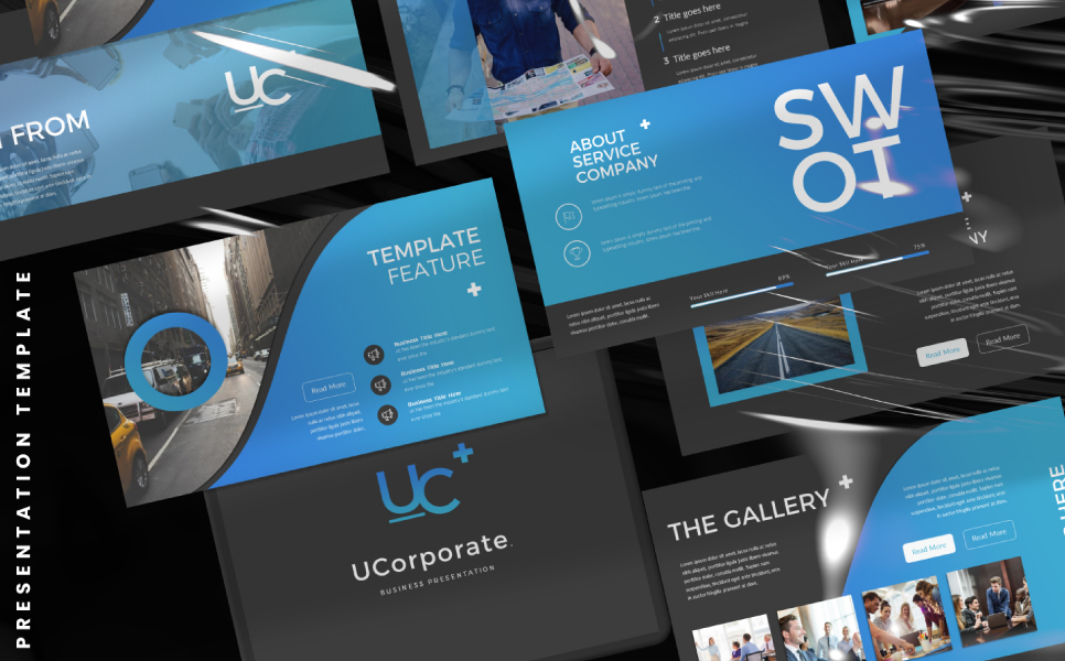 UCorporate PowerPoint Template