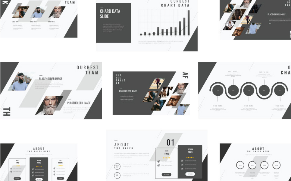 THINK Presentation PowerPoint Template
