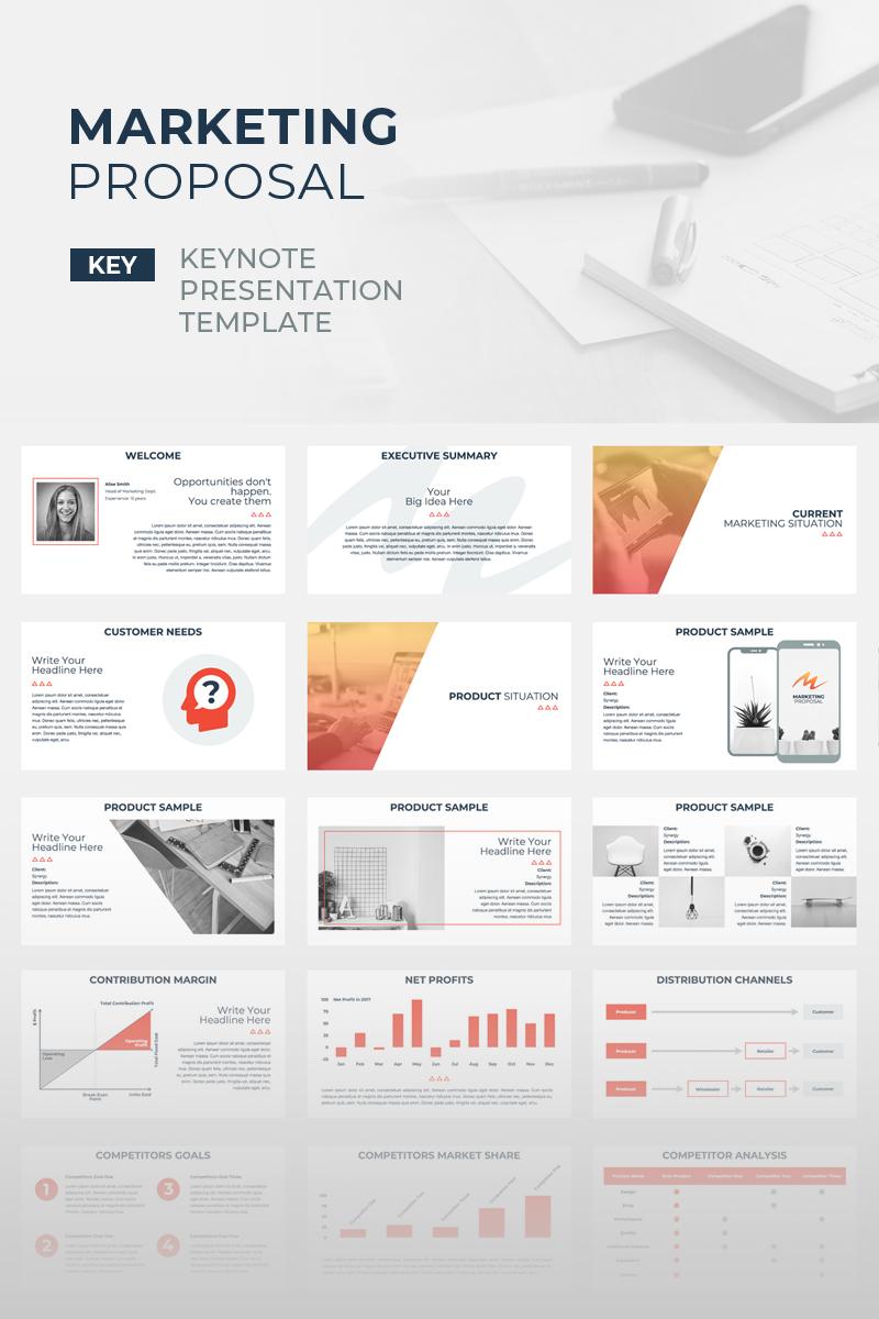 marketing proposal keynote template