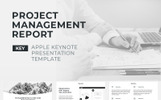Project Management Report Keynote Template