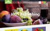 Flavours - Fruit Store Responsive Shopify Theme Big Screenshot