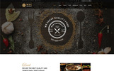 Responsive WordPress thema over BBQ restaurant