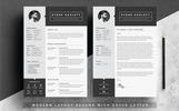 Stone Hazlett - 2 Page Resume Template