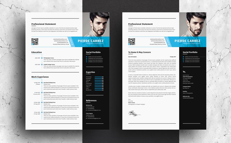 pierre carrez professional resume template  68717