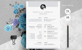 Danielle Connell_Creative Resume Template