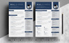"Šablona pro životopis ""Word Resume-Bill Clarke"" Velký screenshot"