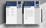 "Šablona pro životopis ""Word Resume-Bill Clarke"""