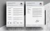 Szablon resume Charles Brown #80047 Duży zrzut ekranu