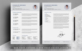 Szablon resume Charles Brown #80047