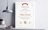 """Word"" Certificate Template"