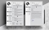 Szablon resume Bill Clarke - Resume with Cover Letter #81627